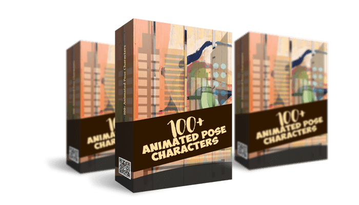 100 Animated Pose Character fix min 700x400 1